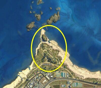North Point GTAV Map Location