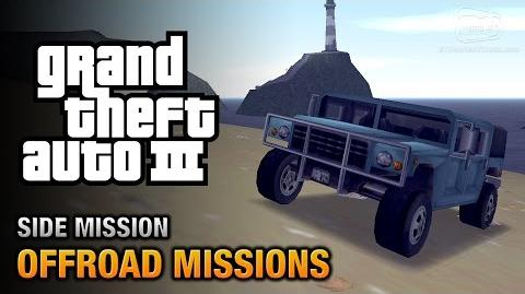 GTA 3 - Off-Road Missions -Where we're going, we don't need roads Trophy-