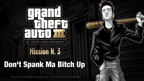 GTA 3 - iPad Walkthrough - Mission 3 - Don't Spank Ma Bitch Up