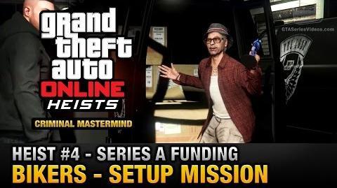 GTA Online Heist 4 - Series A Funding - Bikers (Criminal Mastermind)