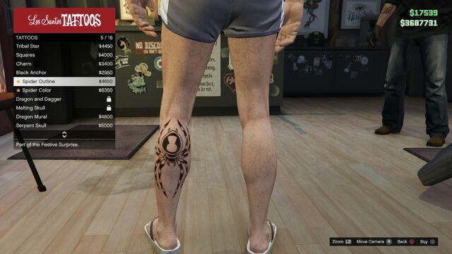 File:Tattoo GTAV Online Male Left Leg Spider outline.jpg