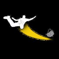 GTAO Flight School Chase parachute