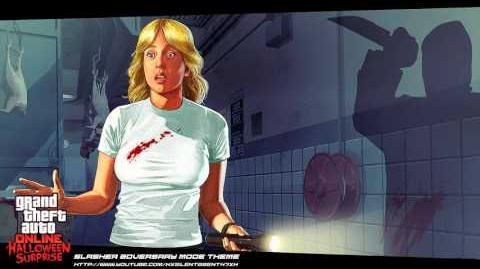 Grand Theft Auto GTA Online Halloween Surprise - Slasher (Adversary) Mode Music Theme