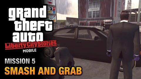 GTA Liberty City Stories Mobile - Mission 5 - Smash and Grab