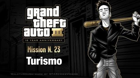 GTA 3 - iPad Walkthrough - Mission 23 - Turismo