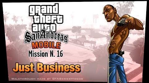 GTA San Andreas - iPad Walkthrough - Mission 16 - Just Business (HD)