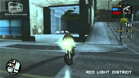 GTA Liberty City Stories - Walkthrough - Street Race - Red Light Racing