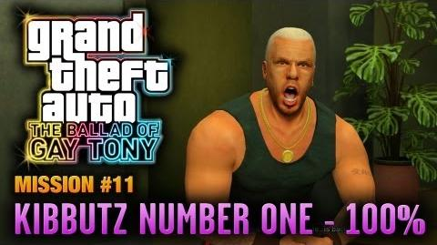 GTA The Ballad of Gay Tony - Mission 11 - Kibbutz Number One 100% (1080p)