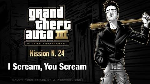 GTA 3 - iPad Walkthrough - Mission 24 - I Scream, You Scream