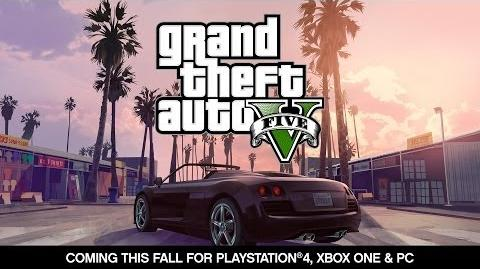 Grand Theft Auto V -- Coming for PlayStation®4, Xbox One and PC this Fall