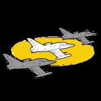GTAO Flight School Lazer formation