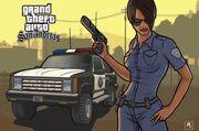 Female cop