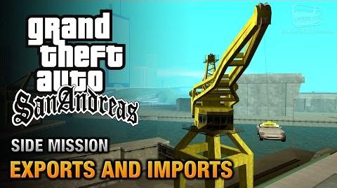 GTA San Andreas - Exports and Imports A Legitimate Business Trophy Achievement