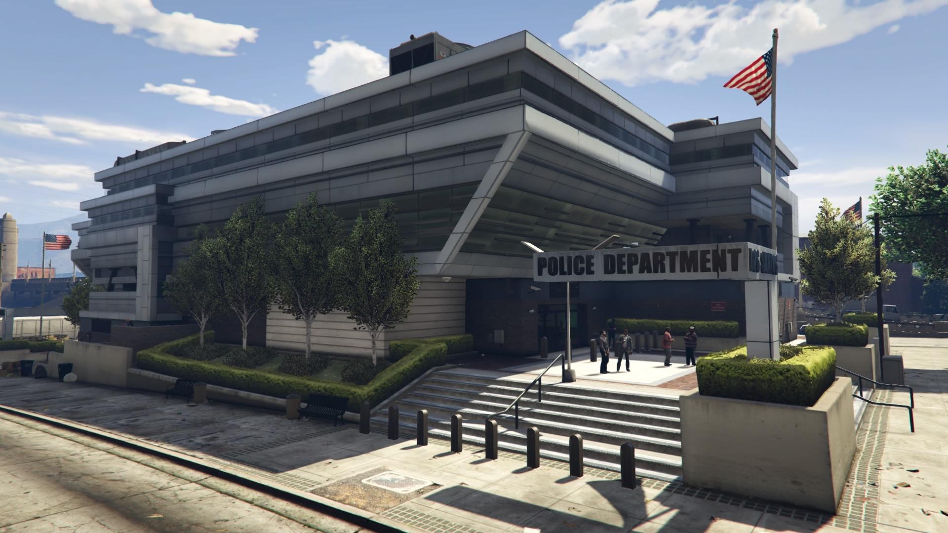 Mission Row Police Station  GTA Wiki  FANDOM powered by Wikia