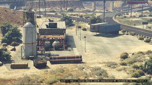 Harmony Fuel Depot GTAV Overview