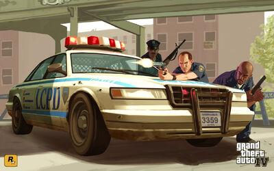 GTA LCPD Artwork