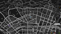 Vehicle Import Mobile GTAO Rockford Hills Map