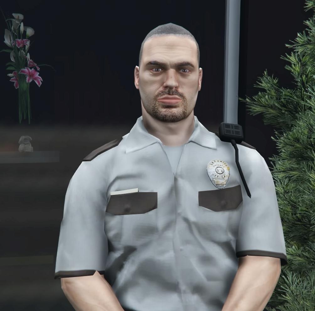 Image cj gtav transparent png gta wiki the grand theft auto wiki - Security Guards