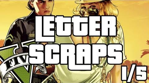 Grand Theft Auto 5 - Letter Scraps Locations - 1 5 - Southeast - GTA V