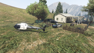 Chopper Tail-GTAO-Meth Lab Scene