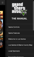 IFruit App The GTAV Manual Contents