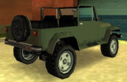 MesaGrande-GTAVCS-militarygreen-rear