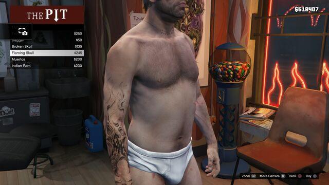 File:Tattoo Trevor Right Arm GTAV Flaming Skull.jpg