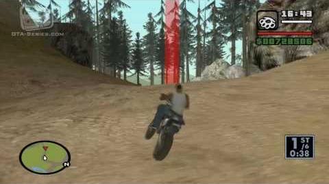 GTA San Andreas - Walkthrough - Street Race - Dirtbike Danger (HD)