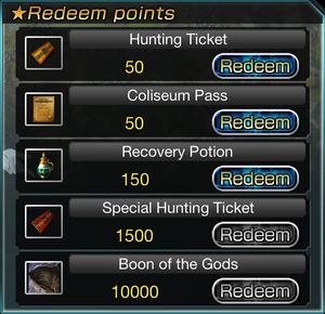 Friend Point Rewards