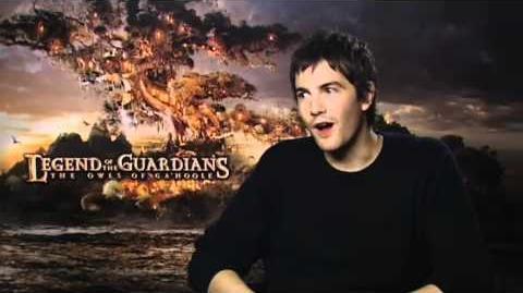Legend of the Guardians - Jim Sturgess interview