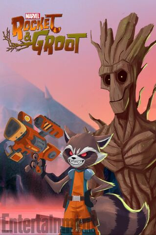 File:Rocket and Groot Poster.jpg