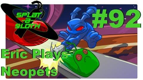Let's Play Neopets 92 Splat-A-Sloth