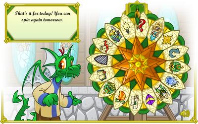 Wheel of knowledge spun
