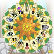 Numbered wheel of knowledge copy