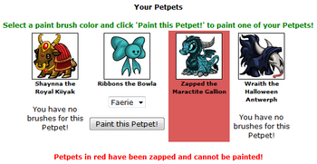 Petpet puddle painting