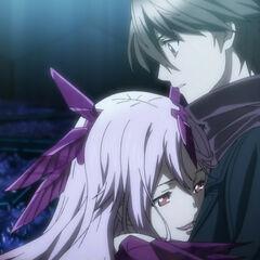 Mana embraces Shu