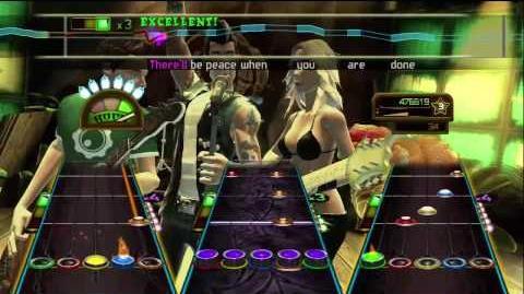 VGTV Guitar Hero Smash Hits Carry on Wayward Son - Full Band Expert