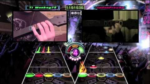 Guitar Hero III DragonForce - Through the Fire and Flames (Co-op Expert 100%)