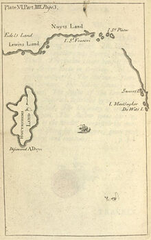 Map of Houyhnhnms land