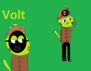 Volt in Gumball Final Fantasy