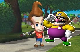 File:Jimmy Neutron and Wario.jpg