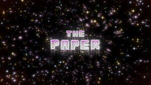 The Paper Titlecard