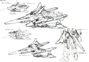 Lightning Gundam BWS rough sketch