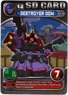 SD-96 EV Destroyer Dom