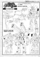 Extreme Gundam Lineart