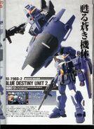Model Kit Blue Destiny Unit 23