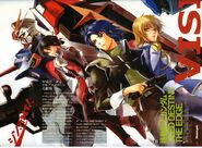 Mobile Suit Gundam SEED Destiny The Edge poster Newtype magazine
