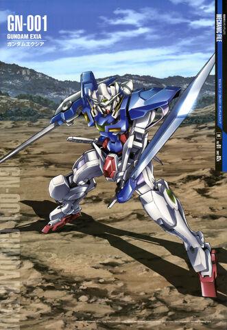 File:Gundam Exia Gundam Perfect File.jpg