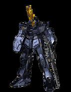 RX-0 Unicorn Gundam 02 Banshee (Unicorn Mode) CG Art (Front)