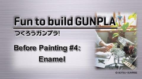 Before Painting 4 Enamel